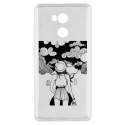Чехол для Xiaomi Redmi 4 Pro/Prime Line art The road is calling