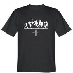 Мужская футболка Lineage fight - FatLine