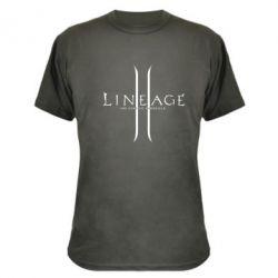 Камуфляжная футболка Lineage ll - FatLine
