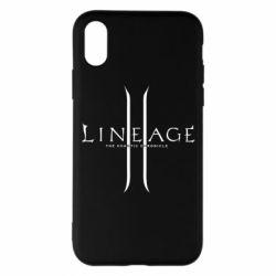 Чехол для iPhone X/Xs Lineage ll