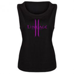 Женская майка Lineage ll - FatLine