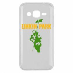 Чехол для Samsung J2 2015 Linkin Park Album