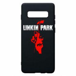 Чехол для Samsung S10+ Linkin Park Album
