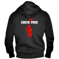 Мужская толстовка на молнии Linkin Park Album - FatLine