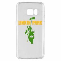 Чехол для Samsung S7 Linkin Park Album