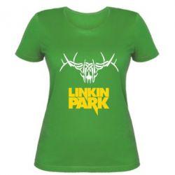 Женская футболка Linkin Park Logo - FatLine