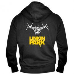 Мужская толстовка на молнии Linkin Park Logo - FatLine