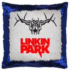 Подушка-хамелеон Linkin Park Logo