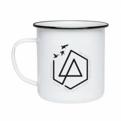 Кружка емальована Linkin park Until It's Gone