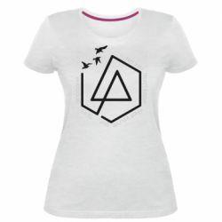 Жіноча стрейчева футболка Linkin park Until It's Gone