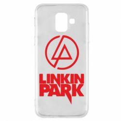 Чехол для Samsung A6 2018 Linkin Park - FatLine