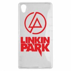 Чехол для Sony Xperia Z1 Linkin Park - FatLine