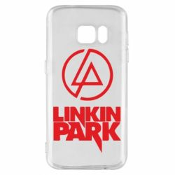 Чехол для Samsung S7 Linkin Park - FatLine