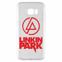 Чехол для Samsung S7 EDGE Linkin Park - FatLine