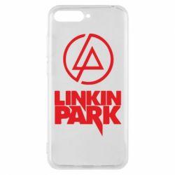 Чехол для Huawei Y6 2018 Linkin Park - FatLine