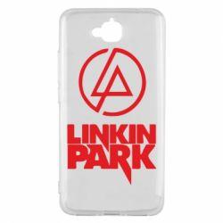 Чехол для Huawei Y6 Pro Linkin Park - FatLine
