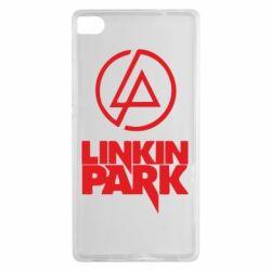Чехол для Huawei P8 Linkin Park - FatLine
