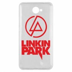 Чехол для Huawei Y7 2017 Linkin Park - FatLine