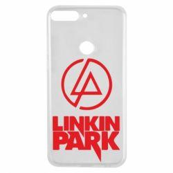 Чехол для Huawei Y7 Prime 2018 Linkin Park - FatLine