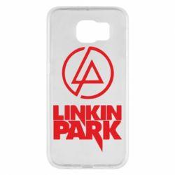 Чехол для Samsung S6 Linkin Park - FatLine
