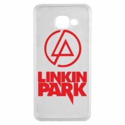 Чехол для Samsung A3 2016 Linkin Park - FatLine