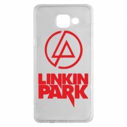Чехол для Samsung A5 2016 Linkin Park - FatLine