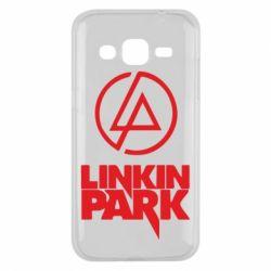 Чехол для Samsung J2 2015 Linkin Park - FatLine