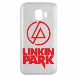 Чехол для Samsung J2 2018 Linkin Park - FatLine