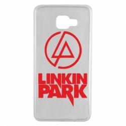 Чехол для Samsung A7 2016 Linkin Park - FatLine