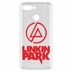 Чехол для Xiaomi Redmi 6 Linkin Park - FatLine