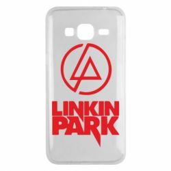 Чехол для Samsung J3 2016 Linkin Park - FatLine