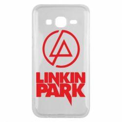 Чехол для Samsung J5 2015 Linkin Park - FatLine