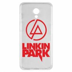 Чехол для Meizu M6s Linkin Park - FatLine
