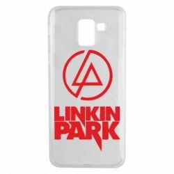 Чехол для Samsung J6 Linkin Park - FatLine