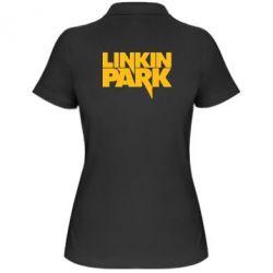 Женская футболка поло Линкин Парк - FatLine