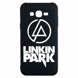 Чехол для Samsung J7 2015 Linkin Park - FatLine