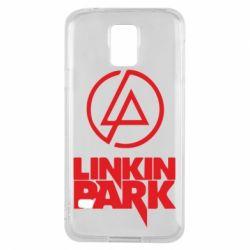 Чехол для Samsung S5 Linkin Park - FatLine
