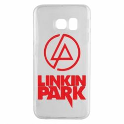 Чехол для Samsung S6 EDGE Linkin Park - FatLine