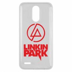 Чехол для LG K10 2017 Linkin Park - FatLine