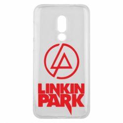 Чехол для Meizu 16 Linkin Park - FatLine
