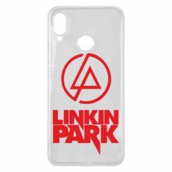 Чехол для Huawei P Smart Plus Linkin Park - FatLine