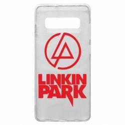 Чехол для Samsung S10+ Linkin Park