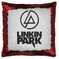 Подушка-хамелеон Linkin Park