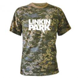 Камуфляжная футболка Линкин Парк - FatLine