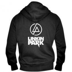 Мужская толстовка на молнии Linkin Park - FatLine