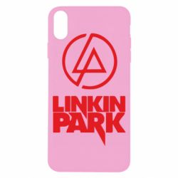 Чехол для iPhone X Linkin Park - FatLine