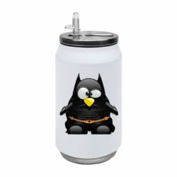 Термобанка 350ml Linux+Batman