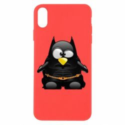 Чехол для iPhone X/Xs Linux+Batman