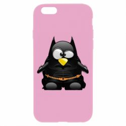 Чехол для iPhone 6/6S Linux+Batman