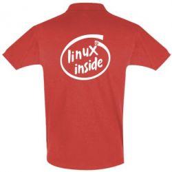 Футболка Поло Linux Inside - FatLine